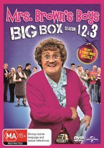 MRS BROWNS BOYS Brown's BIG BOX Series : Season 1 2 3 + Christmas : NEW DVD