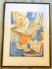 Georges Bescond – Sérigraphie Embarquement – Signée au crayon, datée 26/8/99