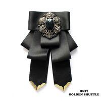 Fashion Bow Tie Wedding Party Tie Brooch Party Brooch BowTie Elegant Bowtie