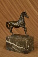 Bookend Abstract Modern Art Horse Gallops Bronze Sculpture Statue Figurine Decor