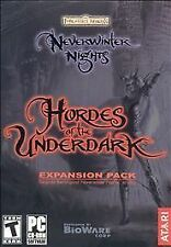NEW SEALED NEVERWINTER NIGHTS: HORDES OF THE UNDERDARK EXPANSION PACK (PC, 2004)