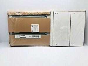 "Ikea Kallax 702.866.45 Kallax with 2 Drawers White 13"" X 13"" New"