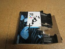 Genuine C6578DN HP 78 Tri-Color Ink Cartridge New Open Box Exp. Jan 2012