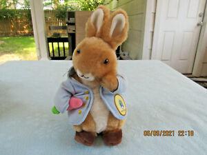 "Original Kid's preferred Peter Rabbit Beatrix Potter 11"" Plush with Carrot Plush"