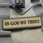 In GOD We Trust New Fashion Swat Military Tactical Patch Tape Army Morale Badge