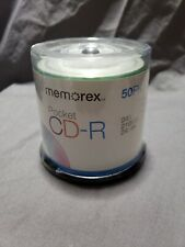 *SEALED* Memorex Recordable POCKET CD-R 24X 210MB 24Min Mini-Discs 50-Pack *NEW*