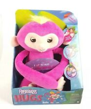 Fingerlings HUGS - Bella (Pink) - Advanced Interactive Plush Baby Monkey Sounds