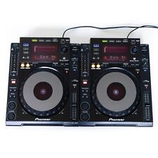2er Paket: Pioneer CDJ 900 DJ USB CD MP3 Multi Player + FREE T-Shirt