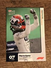 2020 Topps Now Formula 1 Card #1 Pierre Gasly Pr 2357 Monza 1st Victory