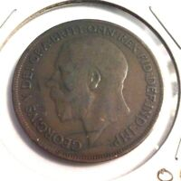 1918-KN Great Britain One Penny Coin -  KM#810  (#IN3390)