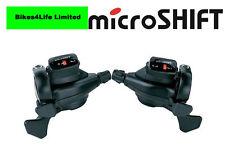 Microshift 3 x 8 Speed Mezzo Shifters 8 Speed