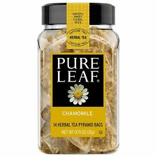 Pure Leaf Chamomile Tea - Case Pack of 4 - Each with 14 Pyramid Bags - July 25