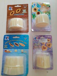 Pineapple Tart Malaysian Cookies Cutter Marmalade Linzer Christmas mold