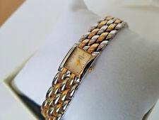 Citizen Ladies Two Tone Braclete Jewelry Clasp  Quartz Classy 25mm Watch