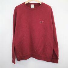 VTG Nike Mens Large Embroidered Swoosh Sweatshirt E465