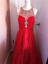 dresses for women party wedding Long Red Size L