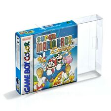 Clear White Nintendo Game Cartridge Case for Gameboy GBA CIB Boxed Game Plastic