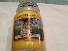 Yankee candle printemps jours usa htf