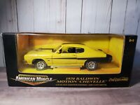 Ertl American Muscle 1970 Chevy Chevelle Baldwin Motion 1:18 Scale Diecast Car