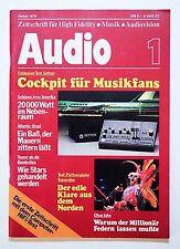 Erstausgabe Zeitschrift AUDIO - 1/1978 - wie neu
