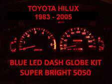 TOYOTA HILUX 1983 - 2005 DASH LIGHT LED BULB KIT RED