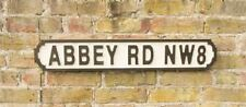 New Retro Vintage Novelty Wooden Abbey Rd NW8 Road Sign Plaque
