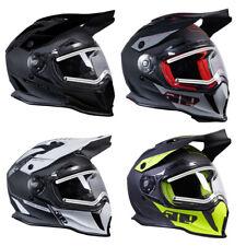 509 Delta R3 Carbon Fiber Ignite Modular Helmet With Fidlock DOT ECE Certified