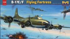 HKM 01E05 1/32 U.S. WWII B-17 E/F BOMBER FLYING FORTRESS MODEL KIT