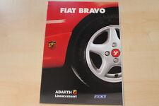 75449) Fiat Brava Abarth Zubehör Prospekt 12/1996