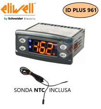 TERMOSTATO DIGITALE CONTROLLORE DIGITALE ELIWELL ID PLUS 961 220V. SONDA NTC