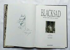 BD - Blacksad 1 Quelque part entre les ombres + dédicace GUARNIDO / CANALES
