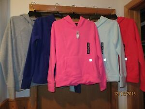 Micro Fleece Hoodies GAP size ,MD  some color 100% polyester NWT