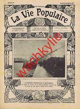 la vie populaire 99 22/09/1903 Asile Charenton Macédoine Jardin Plantes Voilier