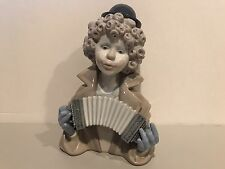 Lladro Porcelain Figurine Fine Melody Clown 5585 Beautiful Mint Condition!