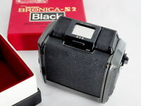 =Excellent= Zenza Bronica 6x6 Roll Film Back Black for S2 Free shipping *249