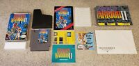 Dragon Warrior II ii 2 Nintendo NES RPG Complete CIB Box Map Manual Guide Lot !!