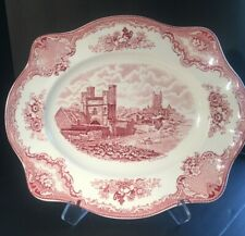 Johnson Brothers Old Britain Castles Oval Serving Platter 13 5/8""