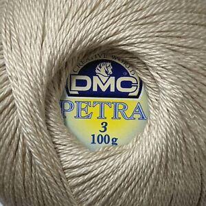 DMC Petra Crochet Thread - Colour: 5712 - Cotton - Size 3 - 100g