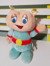 MIGHTY STAR WEIRD ALIEN PLUSH TOY FROM THE 80S?FLOWERS ON TOP FOR EARS?