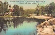 Mt McGregor New York Metro Sanatorium Nurses Cottage Antique Postcard K52999
