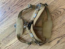 New listing Carhartt Walking Harness (Carhartt Brown / Brushed Brass)