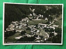 BELLA CART. di MADONNA di CAMPIGLIO TRENTO - DOLOMITI di BRENTA - x LAGUNGO 1936