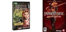 Dungeon Siege + Legends of Aranna  & dungeon siege 2 + broken world