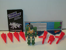 TRANSFORMERS G1 ACTION MASTERS GUTTCRUNCHER COMPLETE w/ ALL ACCESSORIES HASBRO