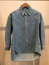 Balenciaga denim shirt size 36