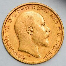 1903-S (Sydney Mint) King Edward VII Gold Half Sovereign (1902-1910 Type)