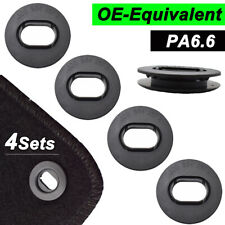 XUKEY Car Floor Mat Fastener Clips Fixing Grips Carpet Oval Clamps For VW SKODA