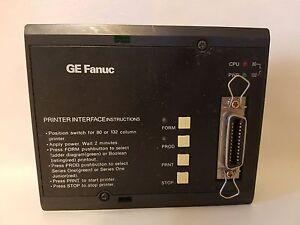 GE FANUC GENERAL ELECTRIC IC610PER151D PRINTER INTERFACE UNIT