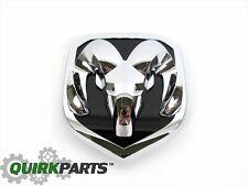 13-17 Dodge Ram 2500 3500 FRONT GRILLE CHROME RAMS HEAD BADGE EMBLEM NEW MOPAR