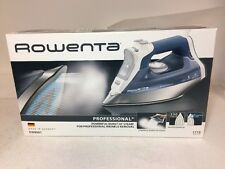 Rowenta DW8061 Professional Steam Iron Auto Shut Off Soleplate, FREE SHIP